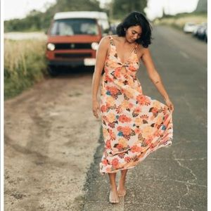 Acacia Patani Dress Retro Paradise NWT Sz XS P